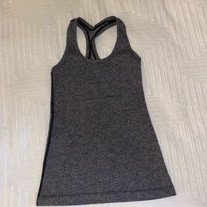 Grey LULULEMON tank - worn once size 6